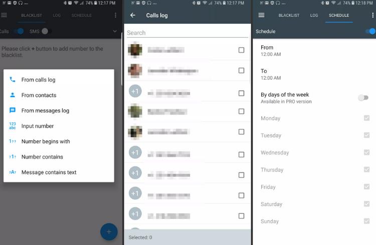 call blacklist - أفضل تطبيقات حظر المكالمات لنظامي Android و iOS